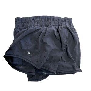 Lululemon Black Skirt Shorts Size 8 Woman's